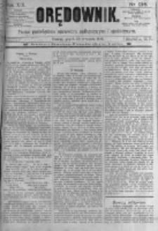 Orędownik: pismo poświęcone sprawom politycznym i spółecznym. 1889.09.20 R.19 nr216