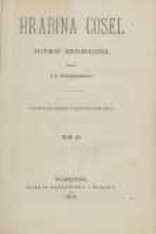 Hrabina Cosel: powieść historyczna. T. 2