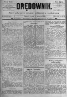 Orędownik: pismo poświęcone sprawom politycznym i spółecznym. 1889.06.18 R.19 nr138