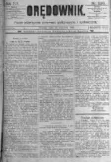 Orędownik: pismo poświęcone sprawom politycznym i spółecznym. 1889.09.25 R.19 nr220