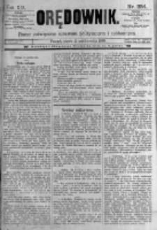 Orędownik: pismo poświęcone sprawom politycznym i spółecznym. 1889.10.11 R.19 nr234