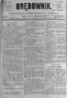 Orędownik: pismo poświęcone sprawom politycznym i spółecznym. 1889.10.15 R.19 nr237