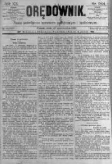 Orędownik: pismo poświęcone sprawom politycznym i spółecznym. 1889.10.23 R.19 nr244