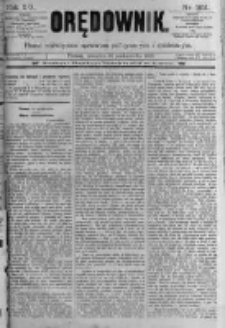 Orędownik: pismo poświęcone sprawom politycznym i spółecznym. 1889.10.31 R.19 nr251