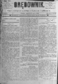 Orędownik: pismo poświęcone sprawom politycznym i spółecznym. 1889.03.03 R.19 nr52