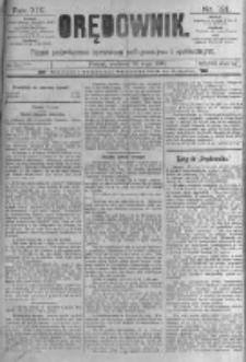 Orędownik: pismo poświęcone sprawom politycznym i spółecznym. 1889.05.26 R.19 nr121