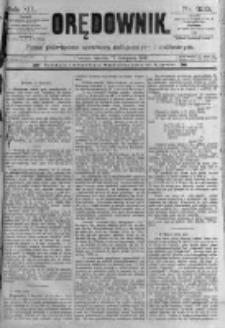 Orędownik: pismo poświęcone sprawom politycznym i spółecznym. 1889.11.12 R.19 nr260