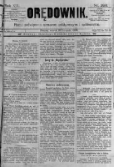 Orędownik: pismo poświęcone sprawom politycznym i spółecznym. 1889.11.19 R.19 nr266