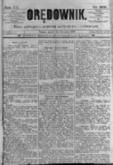 Orędownik: pismo poświęcone sprawom politycznym i spółecznym. 1889.11.22 R.19 nr269