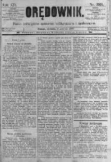 Orędownik: pismo poświęcone sprawom politycznym i spółecznym. 1889.12.08 R.19 nr283