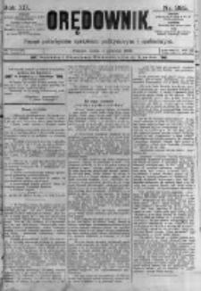 Orędownik: pismo poświęcone sprawom politycznym i spółecznym. 1889.12.11 R.19 nr285