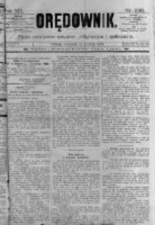 Orędownik: pismo poświęcone sprawom politycznym i spółecznym. 1889.12.12 R.19 nr286