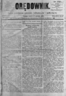 Orędownik: pismo poświęcone sprawom politycznym i spółecznym. 1889.12.17 R.19 nr290
