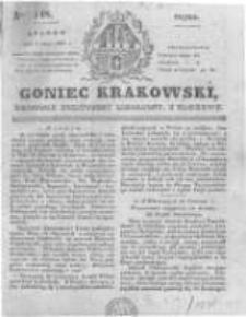 Goniec Krakowski: dziennik polityczny, liberalny i naukowy. 1831.07.01 nr148