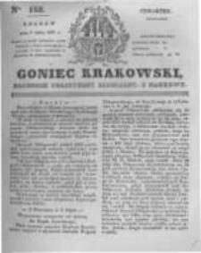 Goniec Krakowski: dziennik polityczny, liberalny i naukowy. 1831.07.07 nr153
