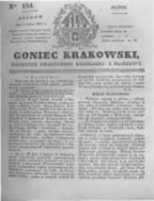 Goniec Krakowski: dziennik polityczny, liberalny i naukowy. 1831.07.08 nr154