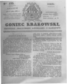 Goniec Krakowski: dziennik polityczny, liberalny i naukowy. 1831.07.09 nr155