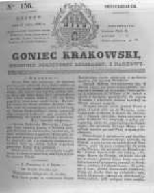 Goniec Krakowski: dziennik polityczny, liberalny i naukowy. 1831.07.11 nr156