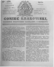 Goniec Krakowski: dziennik polityczny, liberalny i naukowy. 1831.07.13 nr158