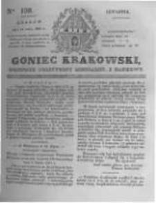 Goniec Krakowski: dziennik polityczny, liberalny i naukowy. 1831.07.14 nr159