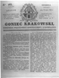 Goniec Krakowski: dziennik polityczny, historyczny i literacki. 1831.07.17 nr161