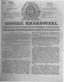 Goniec Krakowski: dziennik polityczny, historyczny i literacki. 1831.07.20 nr164