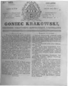Goniec Krakowski: dziennik polityczny, historyczny i literacki. 1831.07.21 nr165