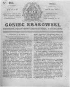Goniec Krakowski: dziennik polityczny, historyczny i literacki. 1831.07.22 nr166