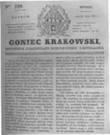 Goniec Krakowski: dziennik polityczny, historyczny i literacki. 1831.07.26 nr170