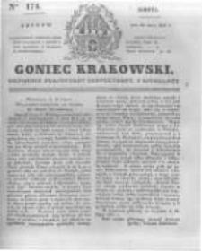 Goniec Krakowski: dziennik polityczny, historyczny i literacki. 1831.07.30 nr174