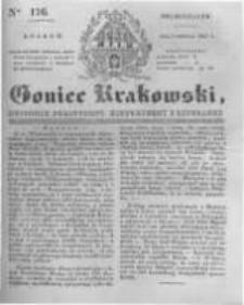 Goniec Krakowski: dziennik polityczny, historyczny i literacki. 1831.08.01 nr176