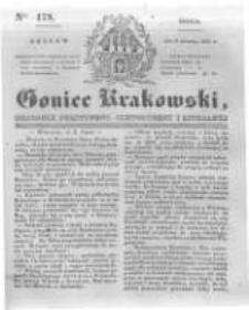 Goniec Krakowski: dziennik polityczny, historyczny i literacki. 1831.08.03 nr178