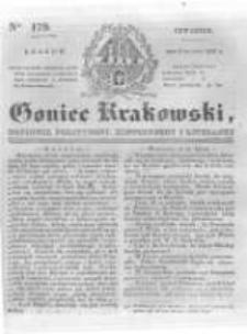Goniec Krakowski: dziennik polityczny, historyczny i literacki. 1831.08.04 nr179
