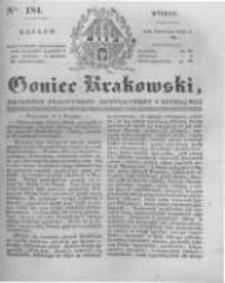 Goniec Krakowski: dziennik polityczny, historyczny i literacki. 1831.08.09 nr184