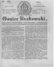 Goniec Krakowski: dziennik polityczny, historyczny i literacki. 1831.08.10 nr185
