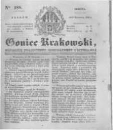 Goniec Krakowski: dziennik polityczny, historyczny i literacki. 1831.08.13 nr188