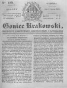 Goniec Krakowski: dziennik polityczny, historyczny i literacki. 1831.08.14 nr189