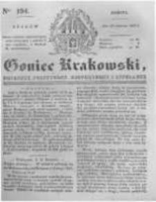 Goniec Krakowski: dziennik polityczny, historyczny i literacki. 1831.08.20 nr194
