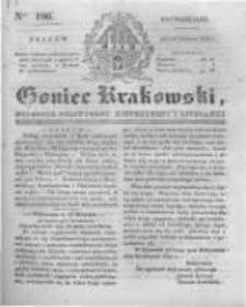 Goniec Krakowski: dziennik polityczny, historyczny i literacki. 1831.08.22 nr196