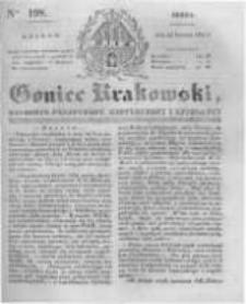 Goniec Krakowski: dziennik polityczny, historyczny i literacki. 1831.08.24 nr198