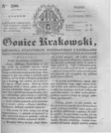 Goniec Krakowski: dziennik polityczny, historyczny i literacki. 1831.08.26 nr200