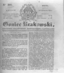 Goniec Krakowski: dziennik polityczny, historyczny i literacki. 1831.08.27 nr201