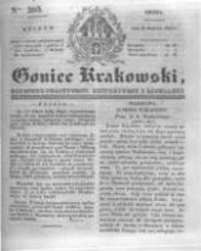 Goniec Krakowski: dziennik polityczny, historyczny i literacki. 1831.08.31 nr205