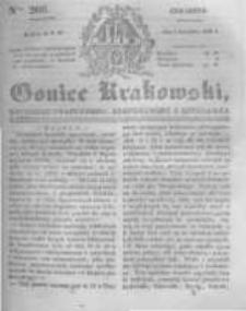 Goniec Krakowski: dziennik polityczny, historyczny i literacki. 1831.09.01 nr206