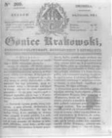 Goniec Krakowski: dziennik polityczny, historyczny i literacki. 1831.09.04 nr209