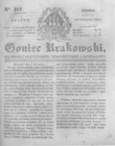 Goniec Krakowski: dziennik polityczny, historyczny i literacki. 1831.09.06 nr211