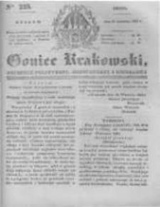 Goniec Krakowski: dziennik polityczny, historyczny i literacki. 1831.09.21 nr225