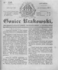 Goniec Krakowski: dziennik polityczny, historyczny i literacki. 1831.09.22 nr226