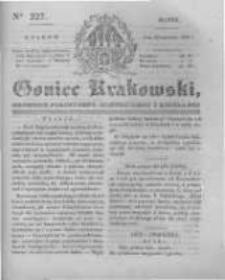 Goniec Krakowski: dziennik polityczny, historyczny i literacki. 1831.09.23 nr227