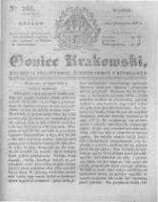 Goniec Krakowski: dziennik polityczny, historyczny i literacki. 1831.09.27 nr231